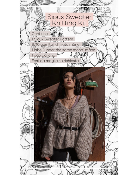 Sioux Sweater Knitting Kit